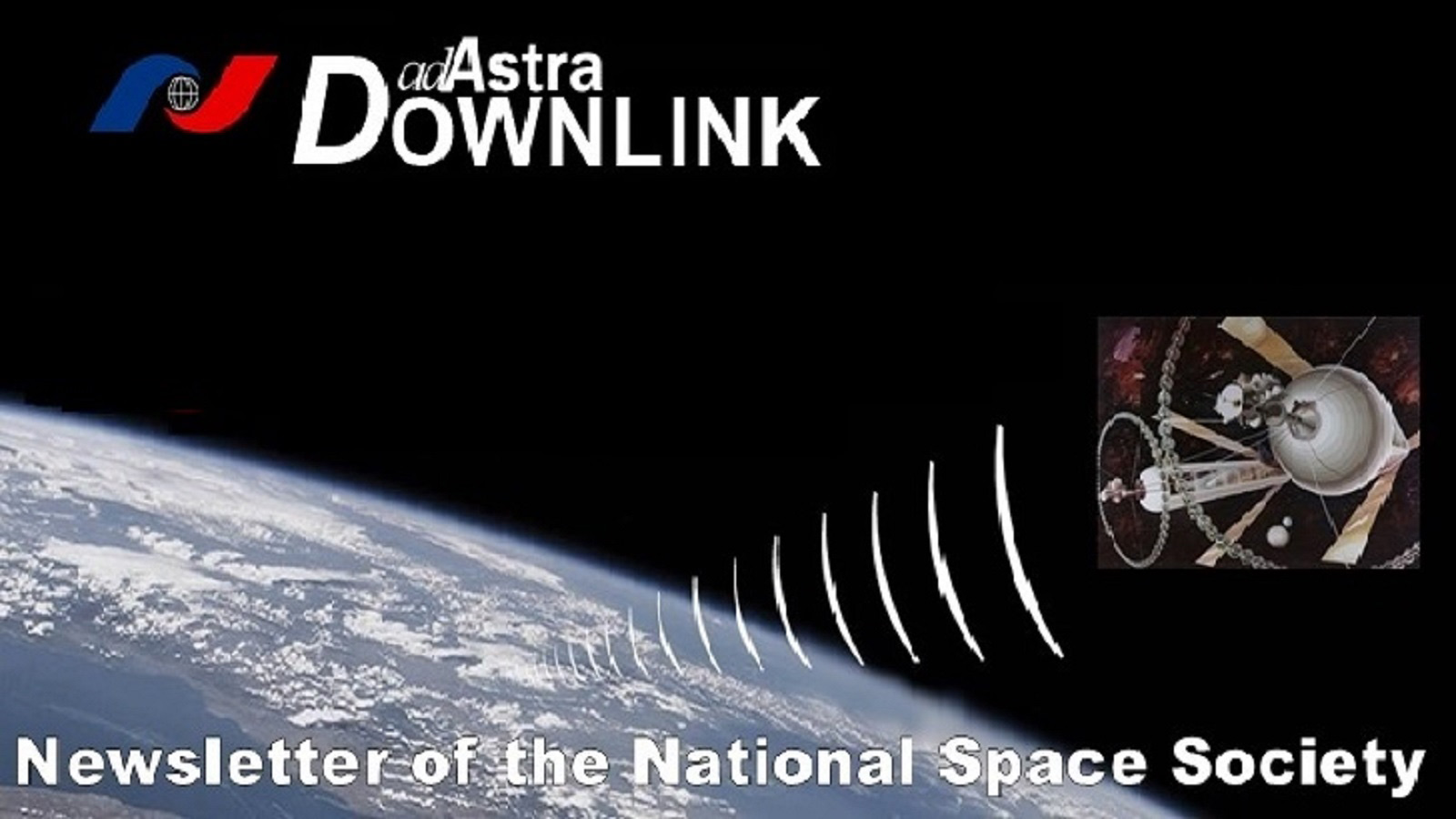 Ad Astra Downlink electronic newsletter for NSS