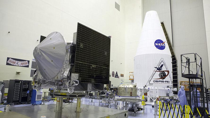 NASA's OSIRIS-REx Explores Primitive Solar System Asteroid