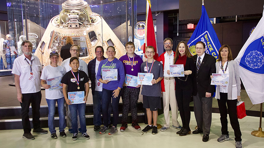 Reach for the Stars Rocket Competition National Winners Honored by NSS
