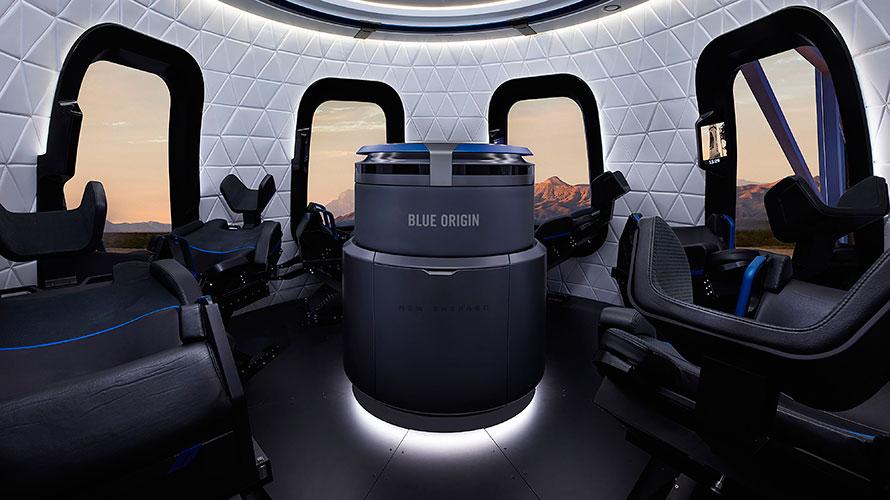 Reusable SpaceShip interior