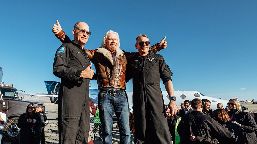NSS Press Release on Virgin Galactic Reaching Space