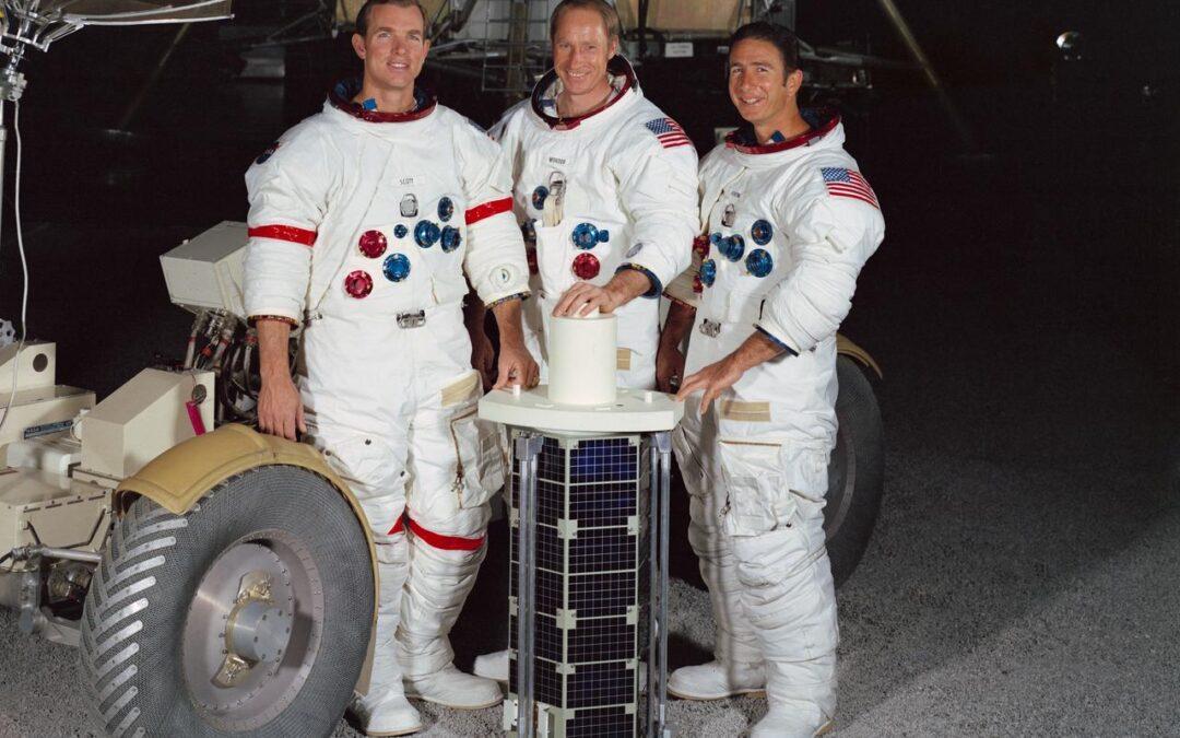 Space in the Seventies: Apollo 15's Books, 1973 – 1974