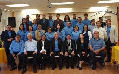 NSS Representation at Signing of Two Collaborative Space Agreements in Mexico