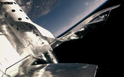 VSS Unity Again Reaches Space – But This Time with Three People on Board