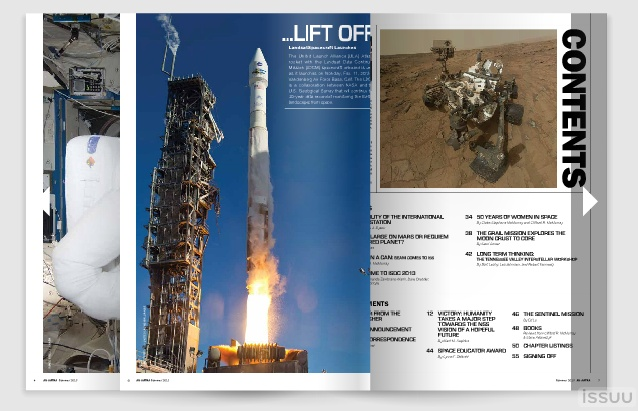 Electronic Ad Astra Issuu Example Page