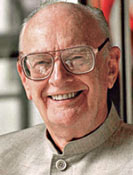 Arthur C. Clarke biography portrait