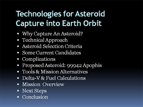 Asteroid capture 01