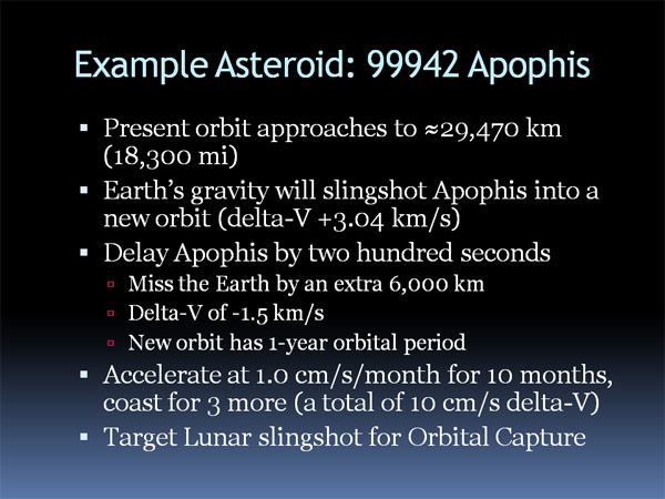 Asteroid capture 07