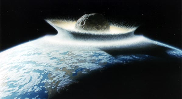 Asteroid impact threat