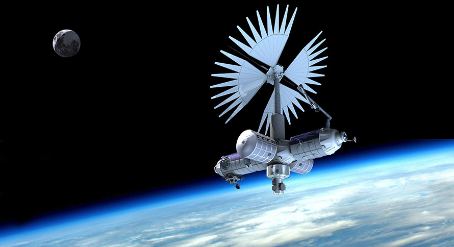 Axiom commercial space station
