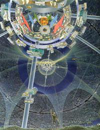 Bernal Sphere Space Settlement Recreation