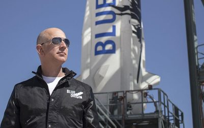 The National Space Society Honors Jeff Bezos with the Gerard K. O'Neill Memorial Award