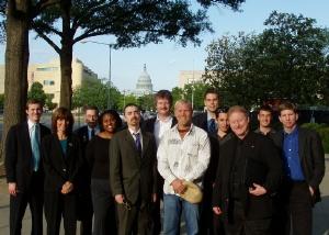 Blitz team at Capitol