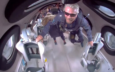 More on Richard Branson in Space
