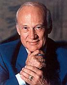 Buzz Aldrin biography portrait