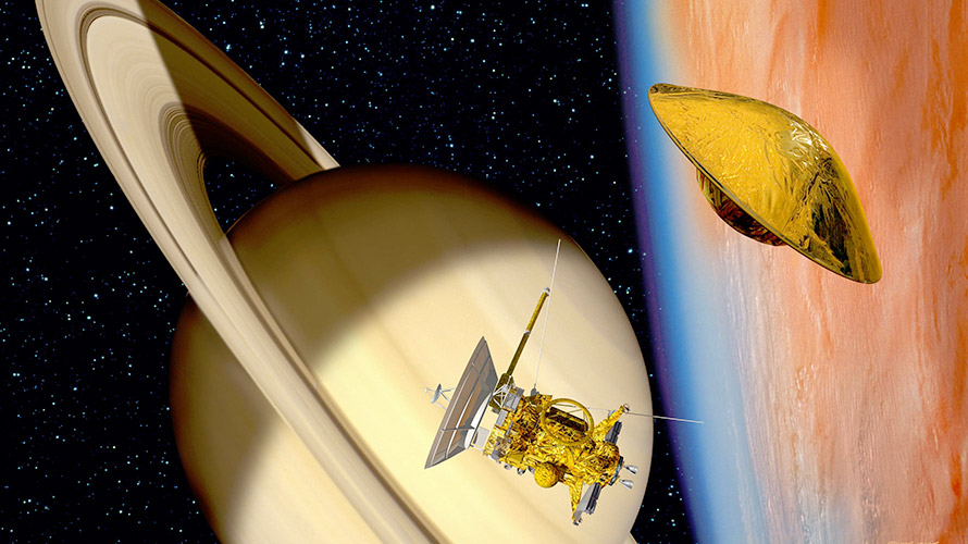 The Cassini and Huygens Teams Win the National Space Society's 2018 Space Pioneer Awards for Science and Engineering