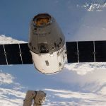 SpaceX Dragon at the ISS