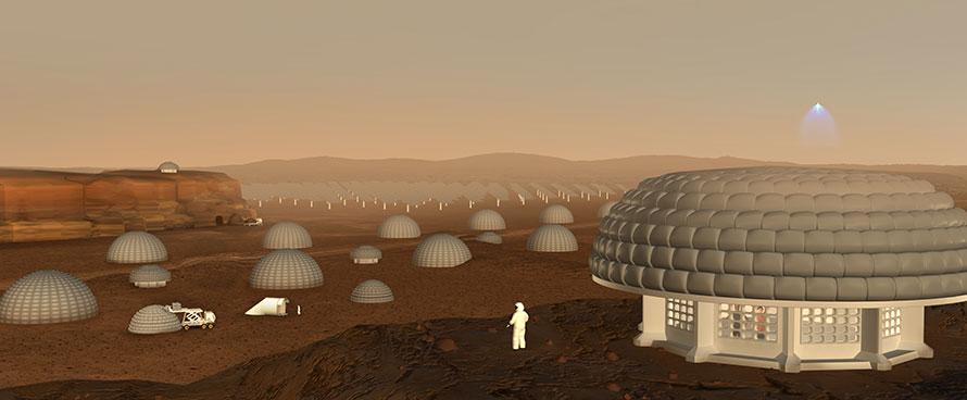 Early Mars city