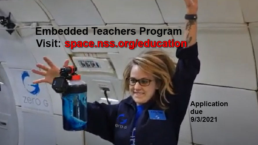 NASA Wisconsin Space Grant Consortium Announces the 2021 Embedded Teachers Program