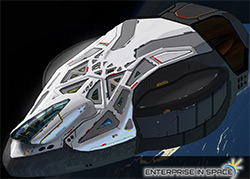 Enterprise in Space project