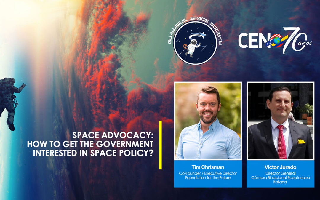 Ecuador Chapter Zoom Presentation on Space Advocacy July 28