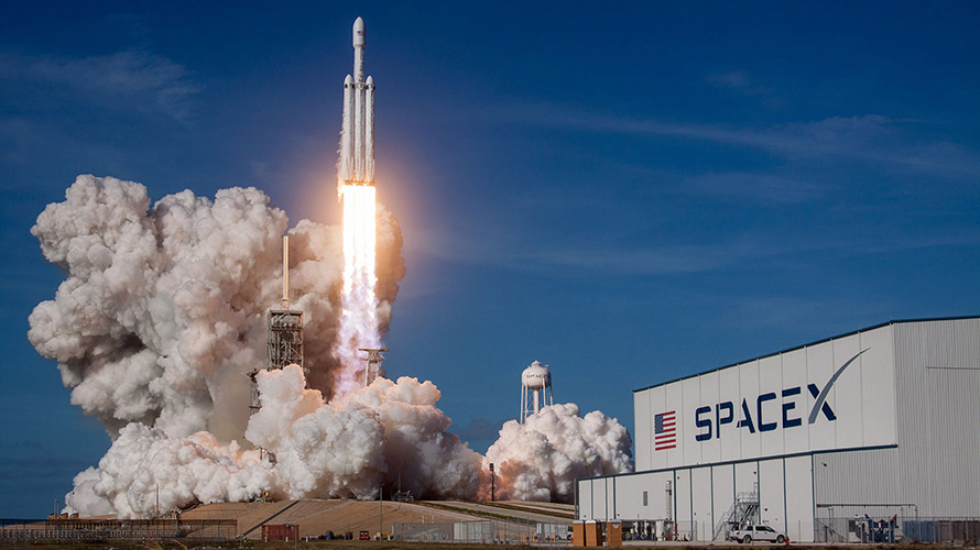 SpaceX's Falcon Heavy Test Flight Brings National Space Society's Vision of a Return to the Moon and a Spacefaring Civilization Closer