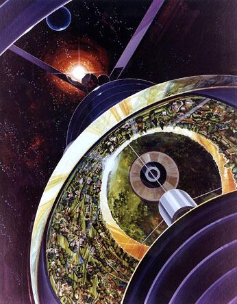 Bernal Sphere cutaway view