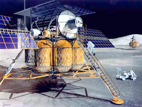 First Lunar Outpost crew transfer