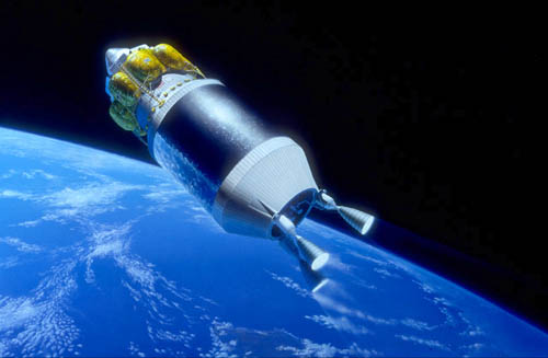 First Lunar Outpost TLI