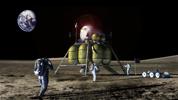frassanito Lunar Lander