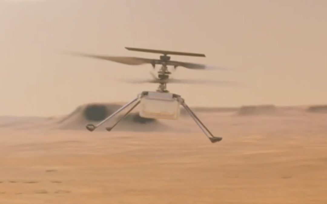 helicopter on Mars