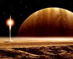 Frank Hettick space art Toward Home
