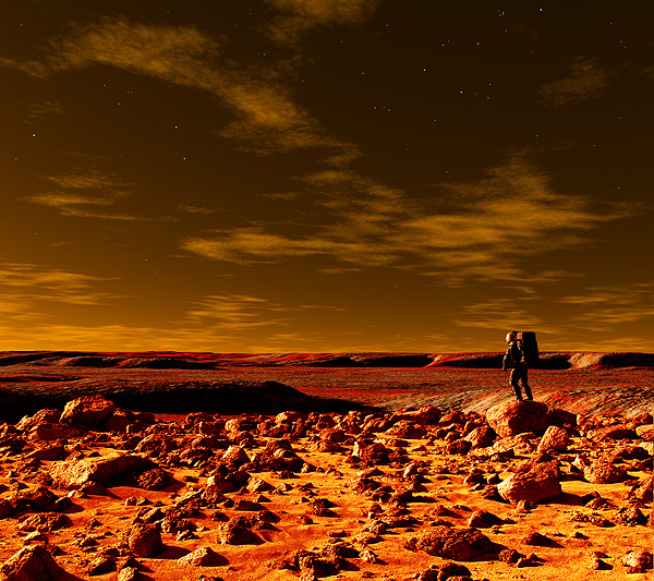 The View From Mars Hill by Frank Hettick