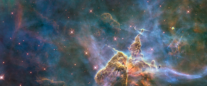 Image of stars by Hubble Space Telescope