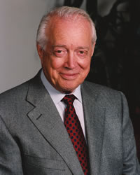 Hugh Downs Portrait