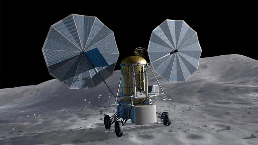 Lunar ISRU demo