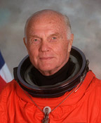 John H. Glenn, Jr. biography portrait