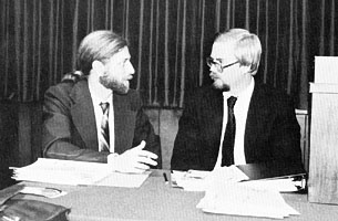 Randy Clamons and Mark Hopkins