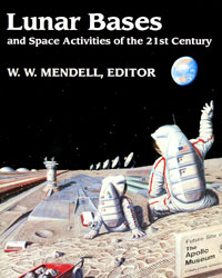 Lunar Base conference book cover