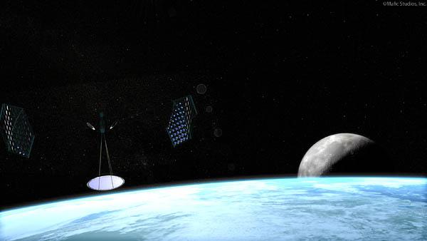 Mafic Studios Space Solar Power Art SSP 01