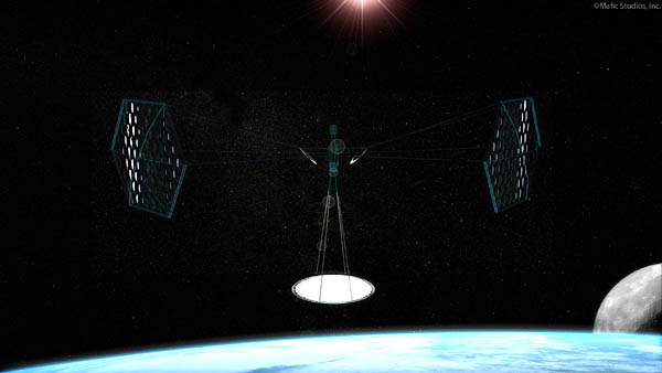 Mafic Studios Space Solar Power Art SSP 02