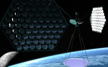 Mafic Studios Space Solar Power Art SSP 03