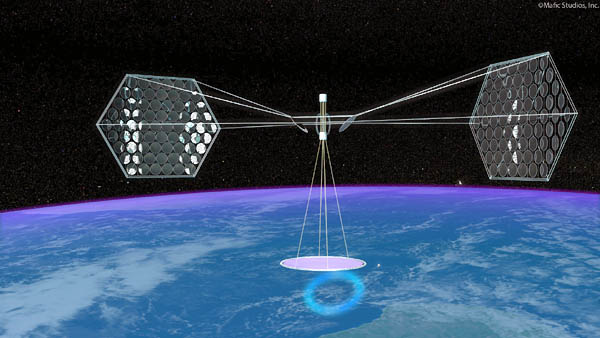 Mafic Studios Space Solar Power Art SSP 04
