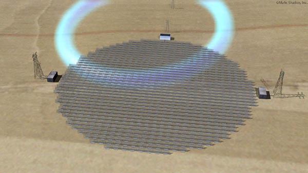 Mafic Studios Space Solar Power Art SSP 07