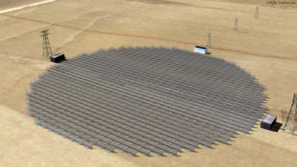 Mafic Studios Space Solar Power Art SSP 08