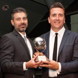 Mars EDL Team 2013 Pioneer award
