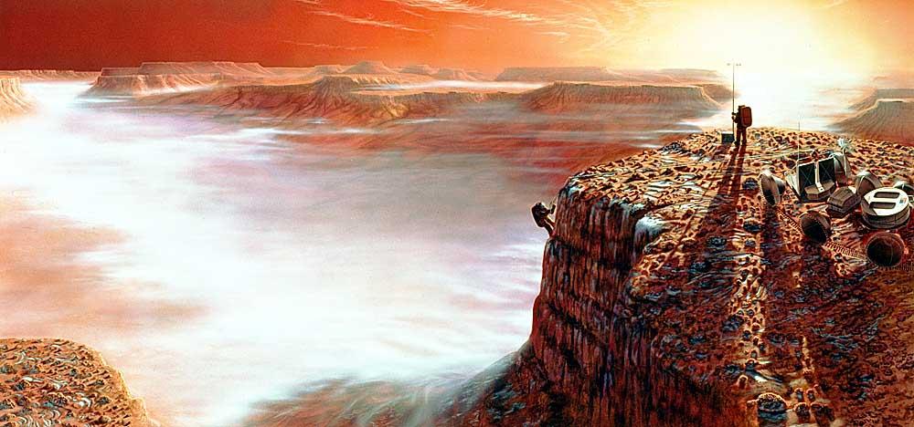 Exploring Mars First Light by Pat Rawlings