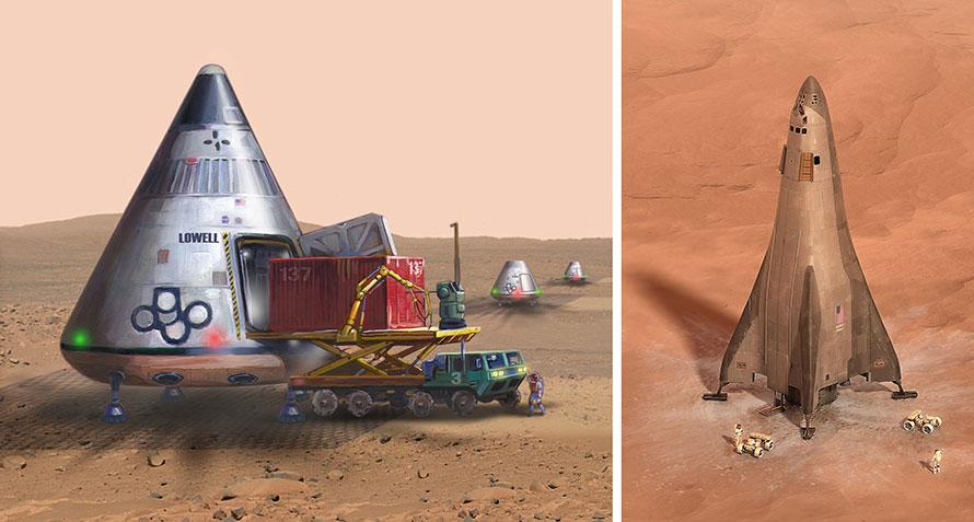 Mars ferries