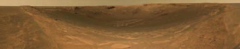 mars rover mission Mars: Endurance Crater