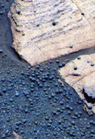 "mars rover mission Martian ""blueberries"""